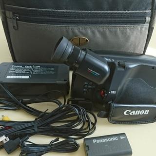 キャノン Hi8 ビデオカメラ 正常動作品