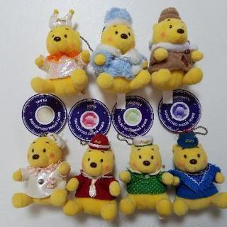 Pooh 誕生石ぬいぐるみマスコット