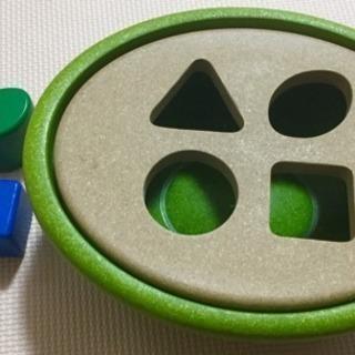 プラントイ 木製玩具 型はめ PLANTOYS