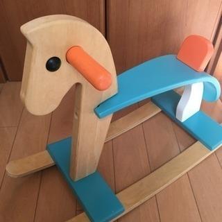 おもちゃ プラントイ 木馬