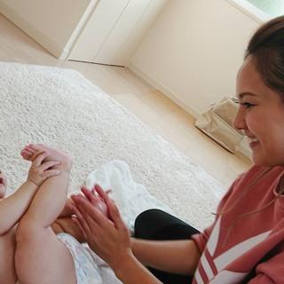 ウェスタ川越*親子で笑顔のコミュニケーション*ベビマ&手形足形アート