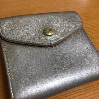 【売ります】イルビゾンテ 革財布 ゴールド