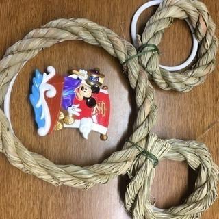 ミッキーマウスの手作りお飾り ②
