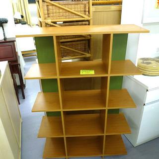 手稲リサイクル 格子 棚 シェルフ 4段 ¥4,800-