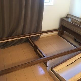 ベッドの枠組み