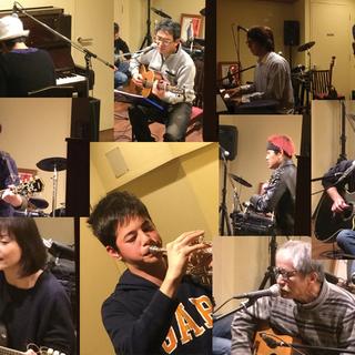 12月23日自由参加ライブ開催! 1月のライブ出演者も同時募集!