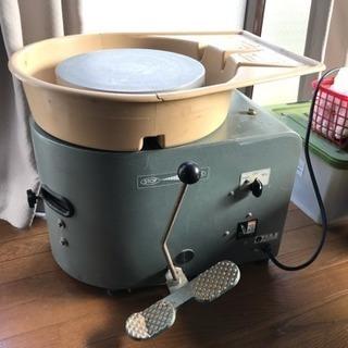 中古シンポ工業製陶芸ろくろRK-88型 AC100V 動作確認済み