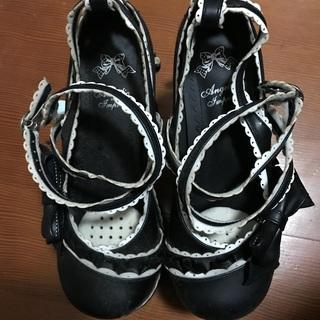 ロリータ用靴差し上げます。
