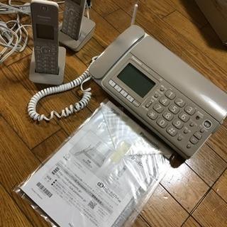 パナソニック FAX電話機 子機2台付き