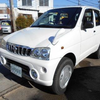 平成12年式 テリオスキッド CX 4WD ターボ 72300キロ!