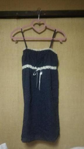 73c651506228e 水玉キャミワンピース (はるか) 京都のワンピースの中古・古着あげます ...