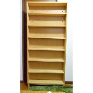 無印良品/MUJI/本棚/木製収納の画像
