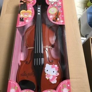 キティーちゃんのバイオリン