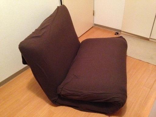 1無印良品の折りたたみソファベッド。もう販売していないレア品です