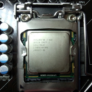CPU LGA1156 Intel Core i7-860 中古 ...