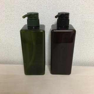 新品未使用 無印良品 シャンプーボトル 詰替えボトル 2本セット