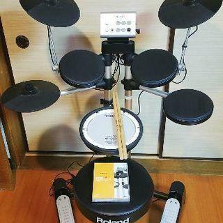 【値下げしました!!!/中古/美品✨】Roland v-drum...