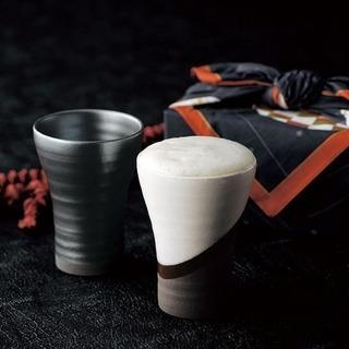 夢紀行 ペアビアカップ(風呂敷付き) 新品未使用