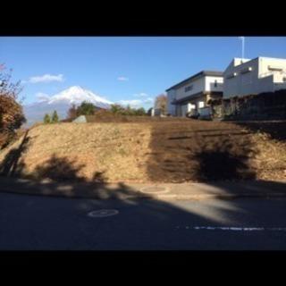 静岡県富士宮市の土地の売買です。
