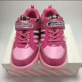 【新品】子供用 キッズ 靴  スニーカー 23.5 candy ...