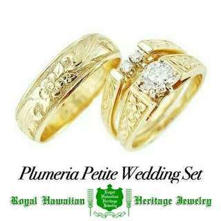 Plumeria Petite Wedding Set  さらに...
