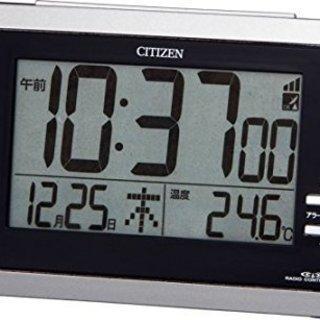 CITIZEN (シチズン) 目覚し時計 ( 電波時計)