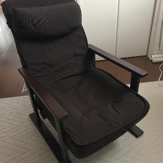 ニトリ 肘置き付き座椅子