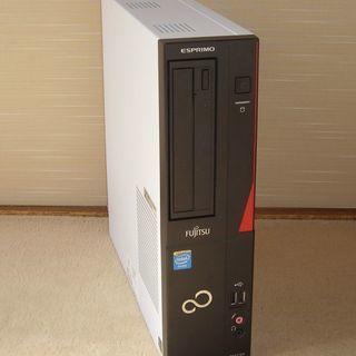 富士通デスクトップ D551/GX(G1610/4G/320G/W10)