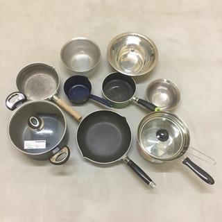 (〜12/26)深鍋、フライパン、パスタパン、雪平鍋、小鍋、ボー...
