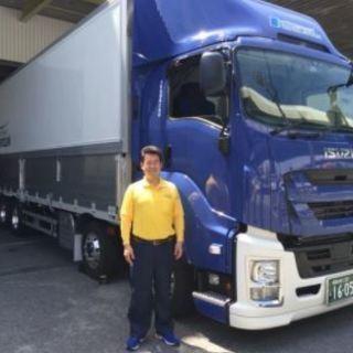 大型トラック中距離ドライバー