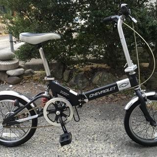 シボレー折りたたみ自転車(16インチ、リアサス)