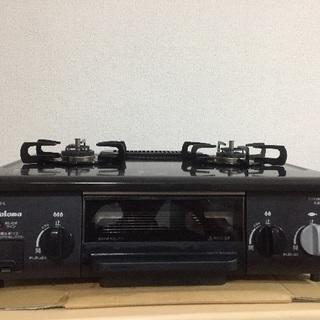 美品 パロマ製 ガスコンロ IC-N30KB-L