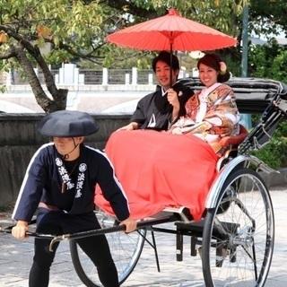 人力車の出張レンタル!【関西・近畿地方】での結婚式、イベントに!