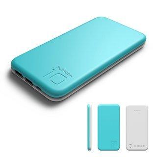 新品 モバイルバッテリー 10000mAh ブルー 急速携帯充電...