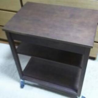 キッチンワゴン 木製 無印良品 ジモティーのみの値下げ - 家具