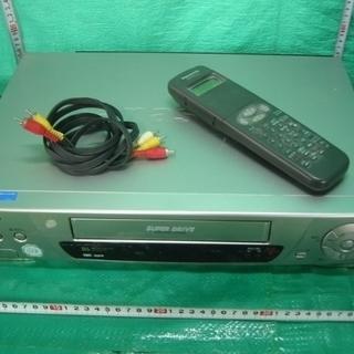 パナソニック99年製VHSビデオレコダー NV-HB340 の中...