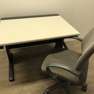 122602☆お持ち帰り価格!オフィス家具 机&椅子セット ☆