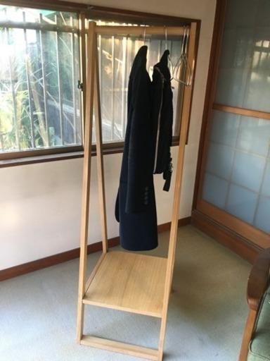 無印良品 コートハンガー(オーク材) - 家具