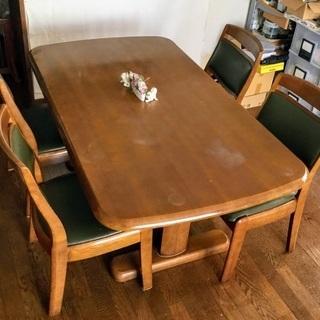 6人掛けダイニングテーブルセット