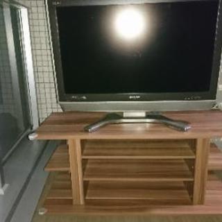 シャープ32インチテレビ  テレビ台