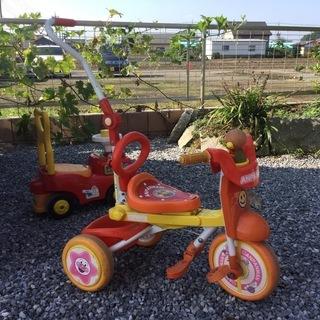 アンパンマン三輪車  差し上げますの画像
