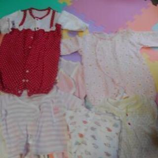 新生児からサイズ70の洋服肌着です
