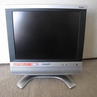 シャープ小型液晶テレビ(BS,地デジ)アクオス