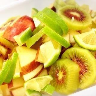 1月の季節の酵素シロップレッスン~キウイ+レモン+リンゴ~