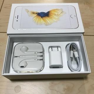 【値下げしました】iPhone 6s gold 64GB 国内S...