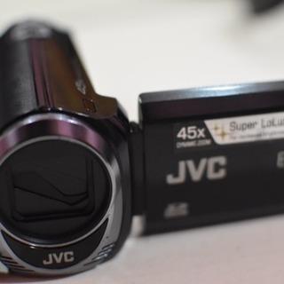 [ほぼ新品]ビデオカメラ 3万7千円 JVC EVERIO GZ...