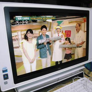 富士通LX70W/D、Core2,Win7,20型,地デジ/BS...
