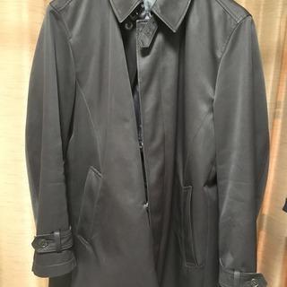 ステンカラーコート Sサイズ 黒 メンズ
