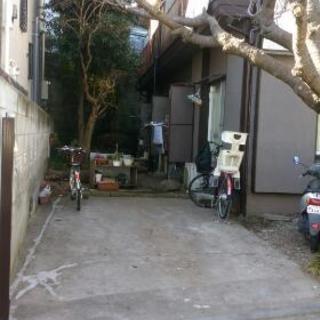 駐車場スペース、バイク等