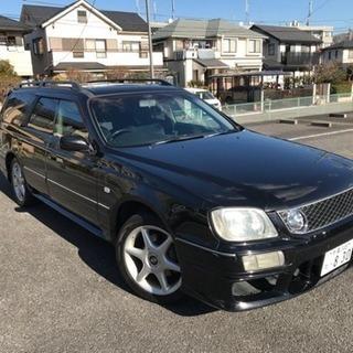 ステージア 25t RS4 S 純正5速!!
